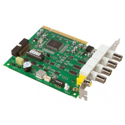 PCI videobewakingskaart 4 CH @ 25 FPS